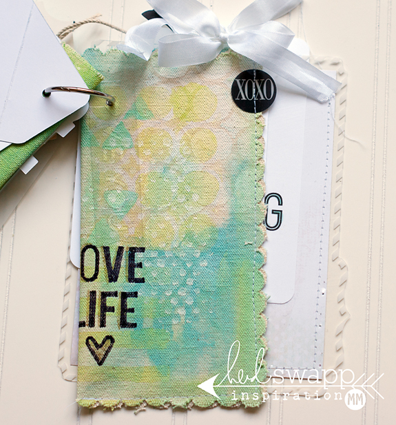 NOTES @MaggieWMassey @HeidiSwapp  #MakePrettyStuff #heidiswapp #scrapbooking #diy #FavoriteThings #MixedMedia