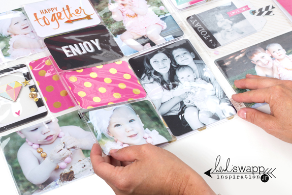 Interactive Project Life Pocket Pages @heidiswapp @beckyhigginsllc @createoften #heidiswapp #projectlife #hsprojectlife