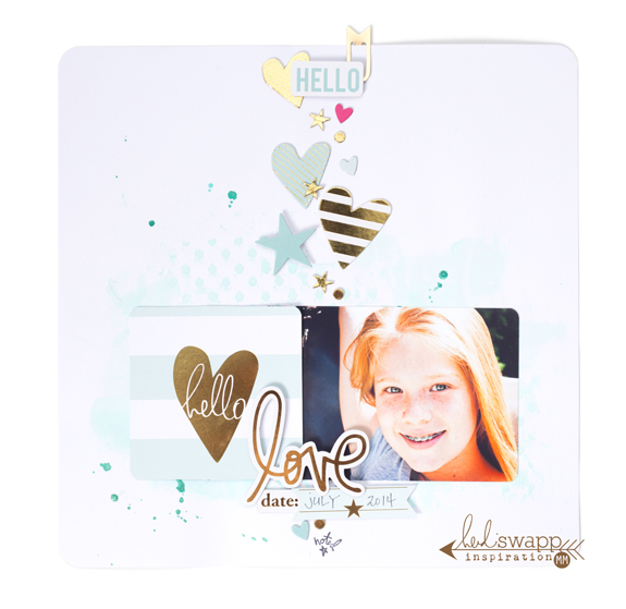 @heidiswapp #hsprojectlife #HeidiSwapp #Project Life #MaggieMassey #scrapbooking #diy Gold Foil Value Kit