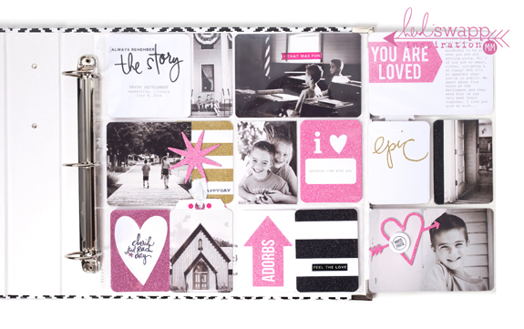#hsprojectlife #HeidiSwapp #Project LifeⓇ eBook #MaggieMassey #scrapbooking #diy Glitter Value Kit