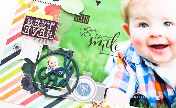 #heidiswapp #makeprettystuff #septemberskies #scrapbooking #colorshine