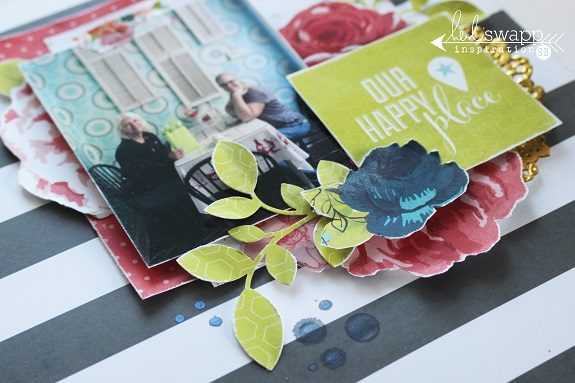 A layout by @sarahbargo for @heidiswapp using the new #hsseptemberskies collection! #heidiswapp #scrapbooking #layout