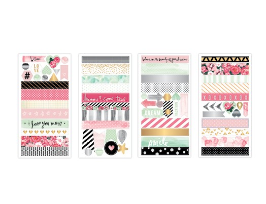 heidi swapp washi shapes booklet