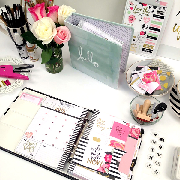 Scrapbook Shopping: New Heidi Swapp Planners At Michaels