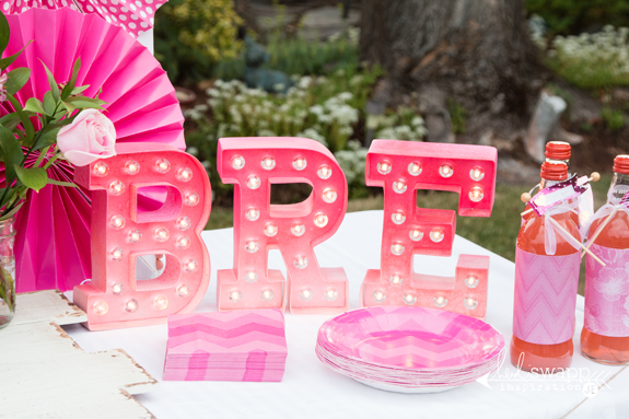 The sweetest girl's birthday party using both my @heidiswapp Minc and Marquee Love collections by @createoften