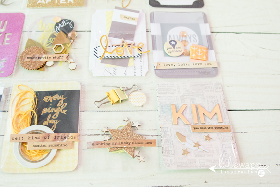 A fun 12x12 Pocket Letter by @createoften for @heidiswapp! It is so much fun to use the @wermemorykeepers Fuse to made more pockets for all kinds of goodies!
