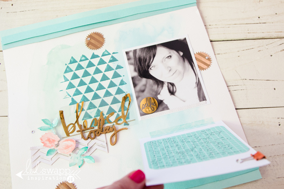 Encouraging words to help you get those photographs into albums! by @createoften for @heidiswapp