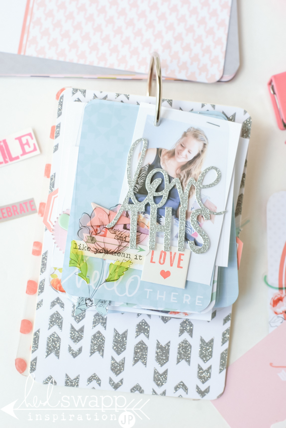 Project Life Tag Album | Heidi Swapp and Project Life team up with September Skies journal cards to create a tag birthday album. @jamiepate for @heidiswapp