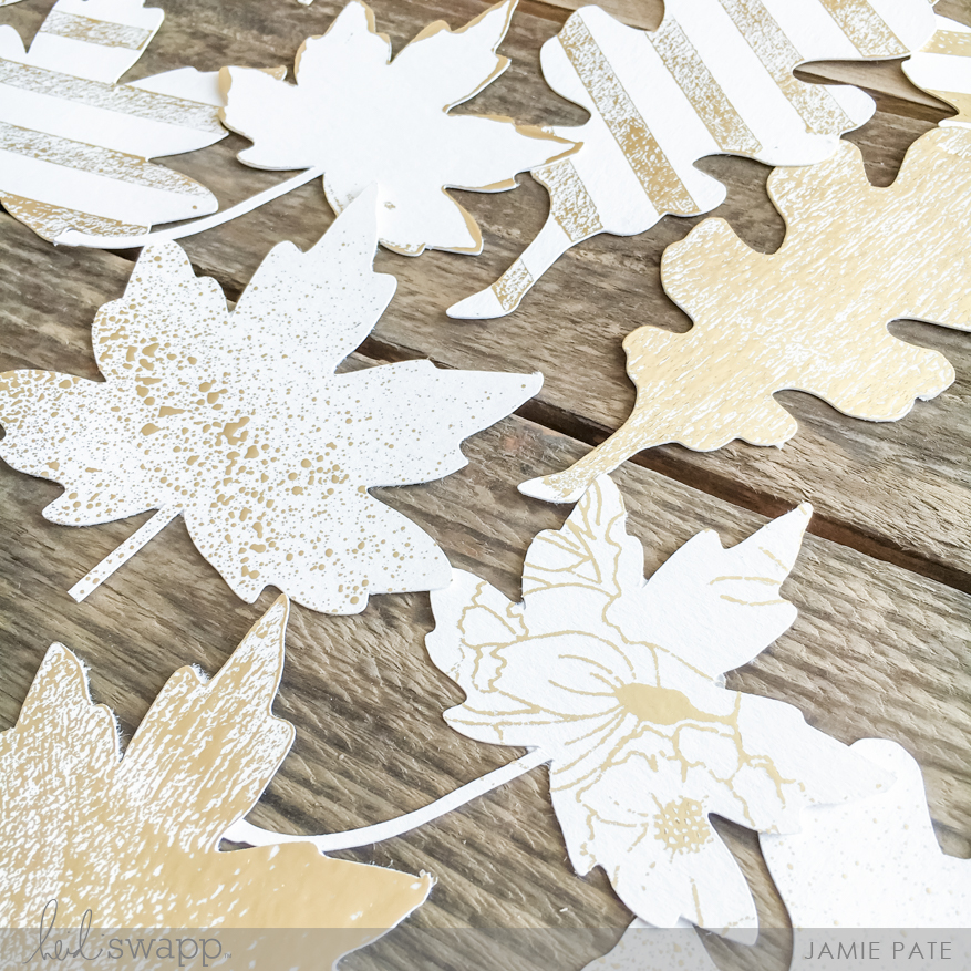 Minc It Monday Foiled Fall Wreath by Jamie Pate for Heidi Swapp | @jamiepate for @heidiswapp