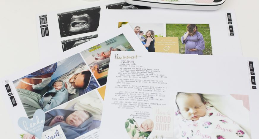5 ways to successfully scrapbook a baby album as a new mom heidi swapp