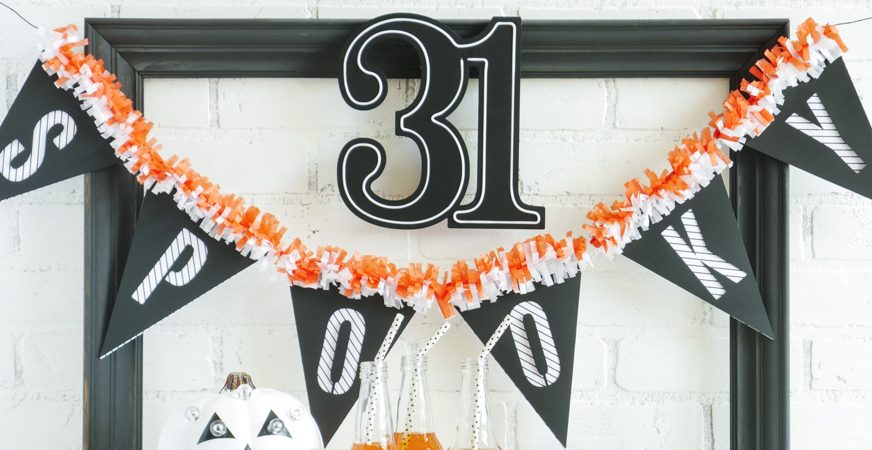 Heidi Swapp Halloween Party Time by Jamie Pate | @jamiepate for @heidiswapp