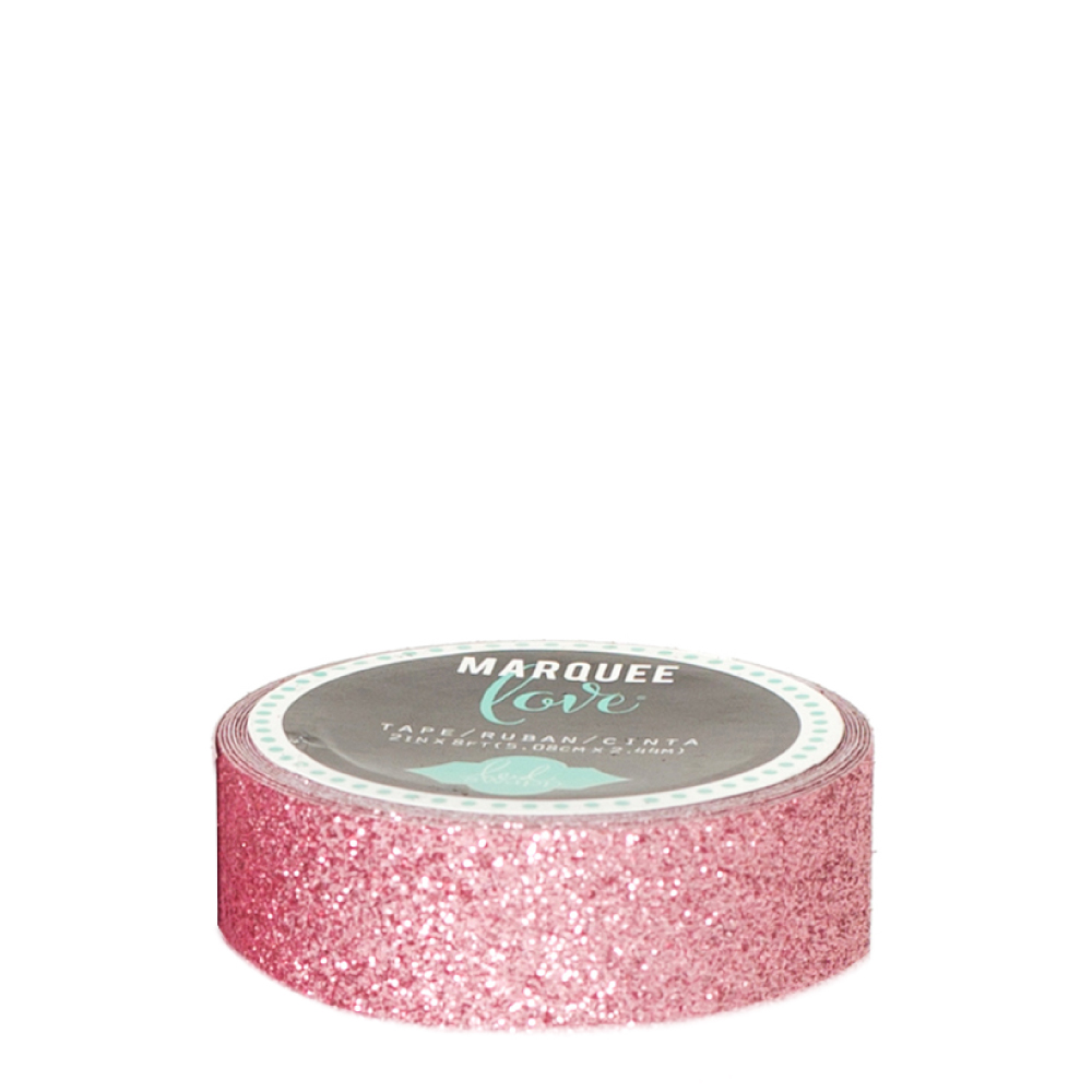 Marquee love pale pink 78 inch decorative glitter tape heidi swapp marquee love pale pink aloadofball Images