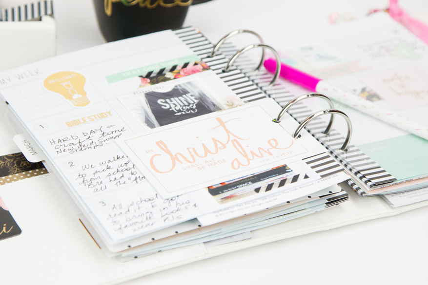 Heidi Swapp Memory Planner pages by @createoften for @heidiswapp
