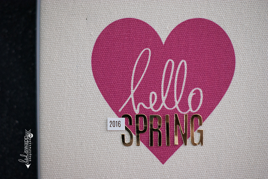 hello spring :: keeping it simple   Instax   @MaggieWMassey for @HeidiSwapp