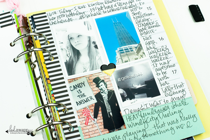 My Memory Planner :: April 2016 | @MaggieWMassey for @HeidiSwapp