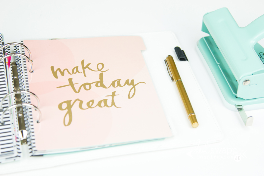How to make planner dividers and dashboards by @createoften for @heidiswapp