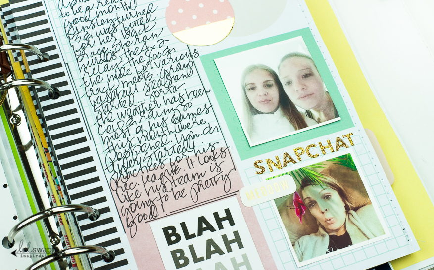 My Memory Planner :: April 2016   @MaggieWMassey for @HeidiSwapp