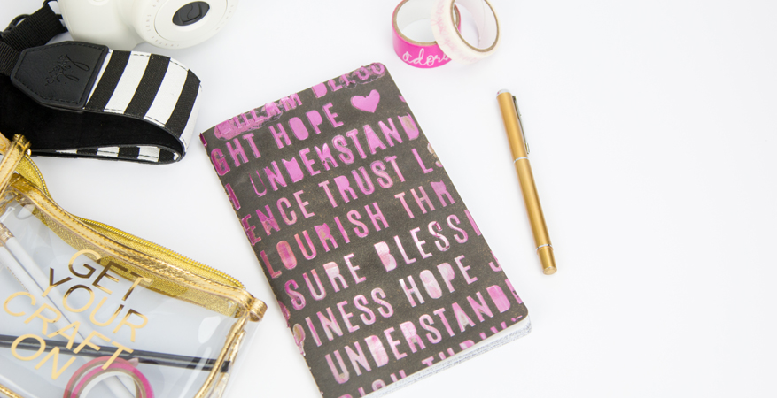 DIY Notebooks by @createoften for @heidiswapp