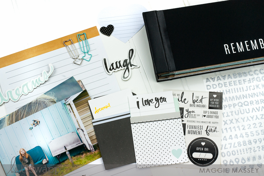 a look at the new Heidi Swapp Memory Keeping Time Capsule | @MaggieWMassey for @HeidiSwapp