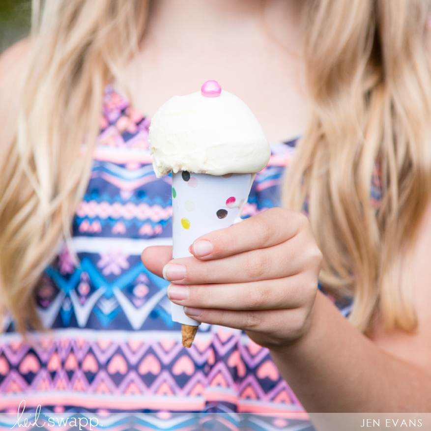 Ice Cream Birthday Party | Themed girls birthday party made easy by @createoften for @heidiswapp