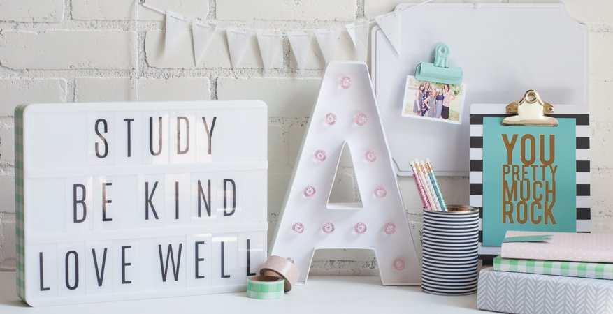 Back To School Gallery Wall |@jamiepate for @heidiswapp