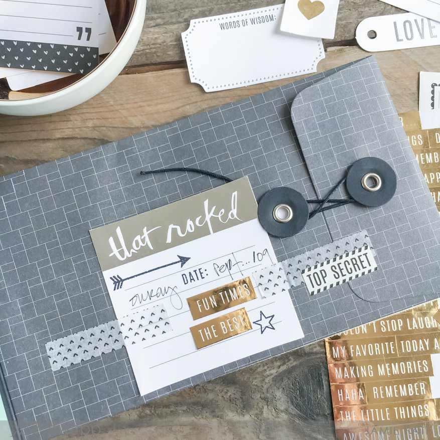 Capture and save vacation memories for years to come. Jamie Pate for Heidi Swapp Memory Keeping. @jamiepate for @heidiswapp