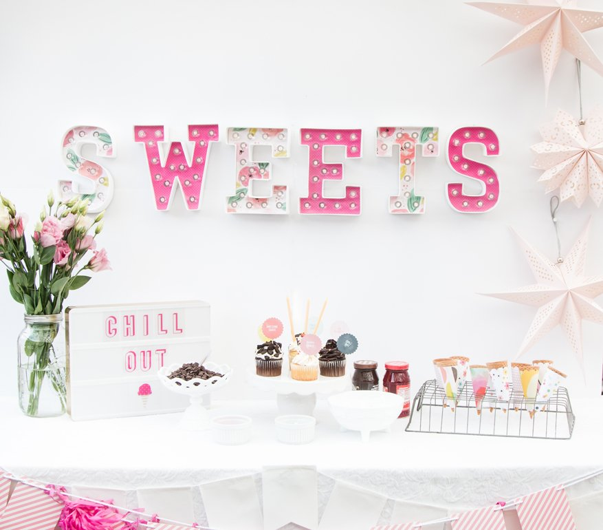 How to hang your marquee shapes by @createoften for @heidiswapp
