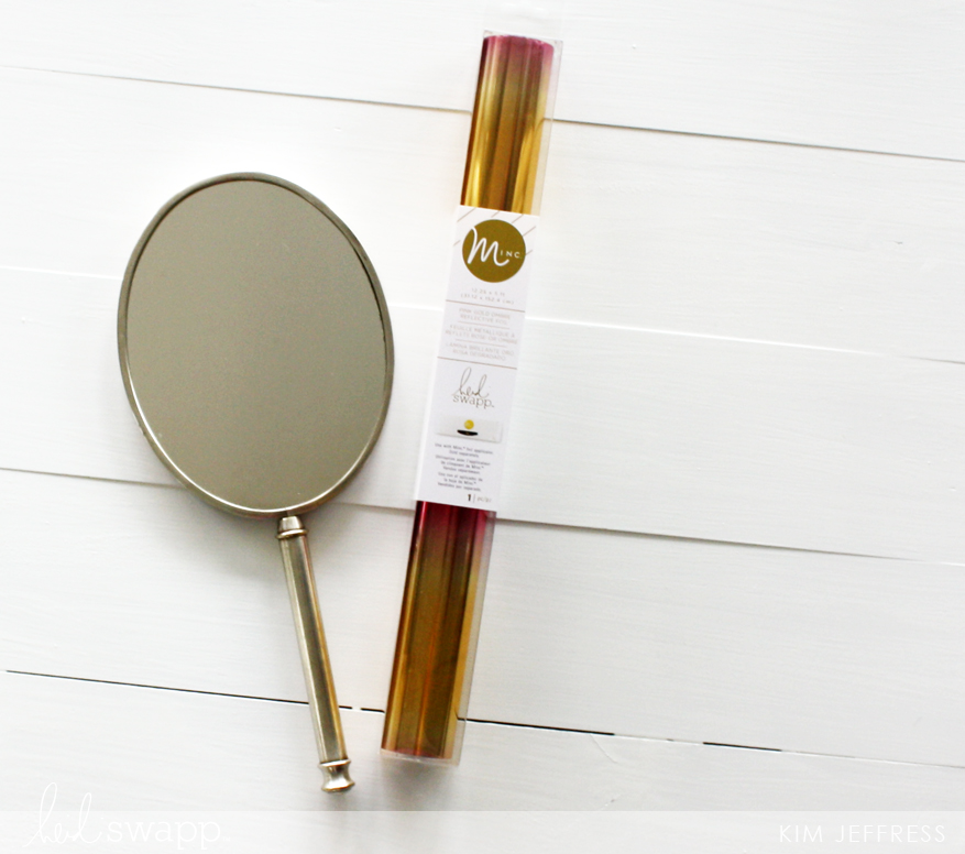 MInc foiled DIY mirror
