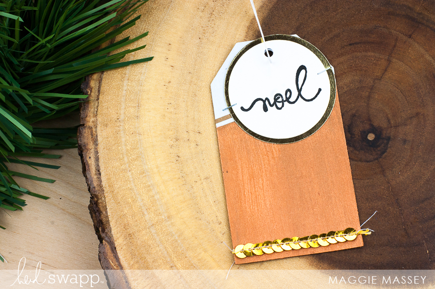 Gift Tags! Heidi Swapp's DIY Gift Wrap Collection | @MaggieWMassey for @HeidiSwapp