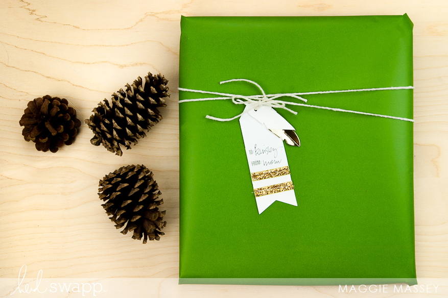 Gift Tags! Heidi Swapp's DIY Gift Wrap Collection   @MaggieWMassey for @HeidiSwapp