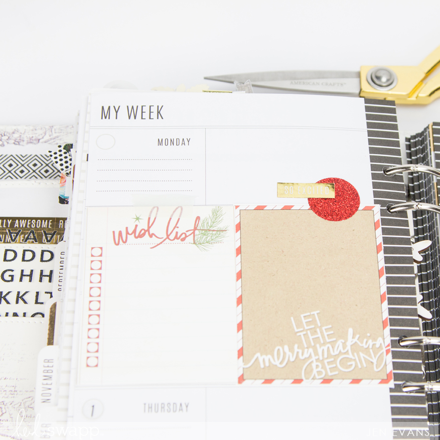 December Memory Planner reset pages with freebie by @createoften for @heidiswapp
