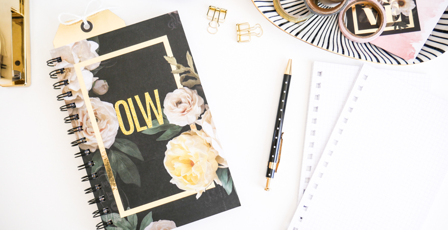 Heidi Swapp Magnolia Jane DIY Notebook by Jamie Pate | @jamiepate for @heidiswapp