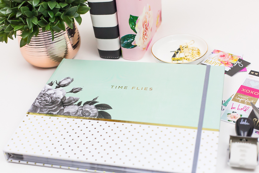 Time Flies Memory Planner Inspiration I @lindsaybateman for @heidiswapp