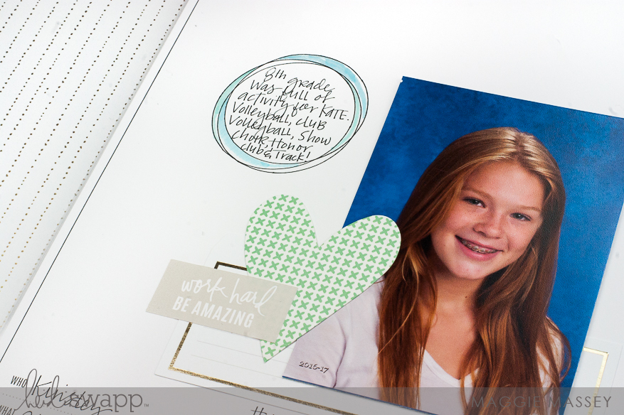 Documenting School Photos with Heidi Swapp's Storyline Collection | Maggie Massey for Heidi Swapp
