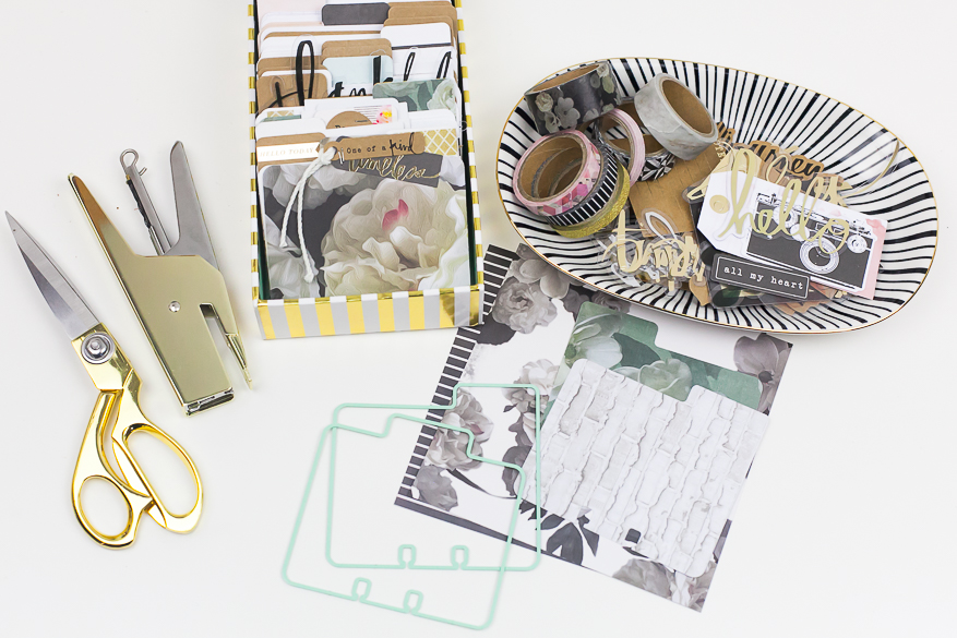 Use Memory Dex dies to create customize memory dex cards I @lindsaybateman for @heidiswapp