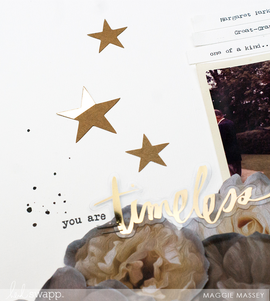 Scrapbooking with Magnolia Jane :: the new Collection by Heidi Swapp | Maggie Massey