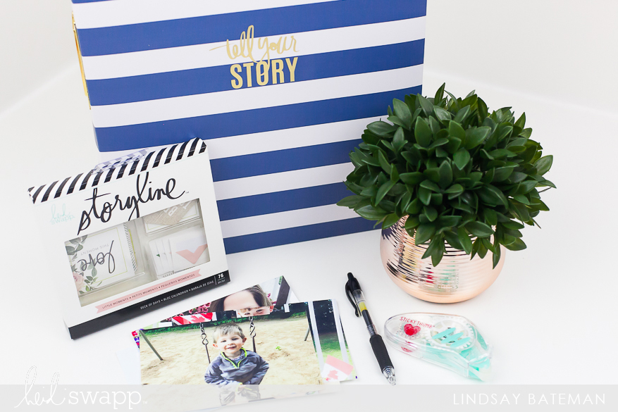 Storyline Album and Deck of Days Kit Tell Your Children's Story I @lindsaybateman for @heidiswapp