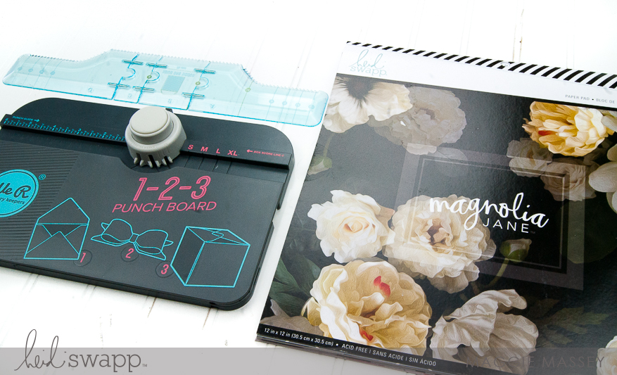 Easter Gifts with the Minc & WeR Memory Keepers Punch Boards | Maggie Massey for Heidi Swapp