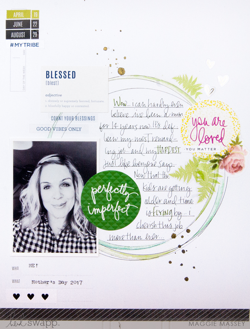 Using Storyline to Document YOU! :: Mother's Day 2017 | Maggie Massey for Heidi Swapp