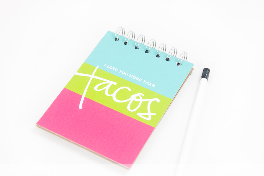 DIY Notebooks made in minutes with free printable by @createoften for @heidiswapp