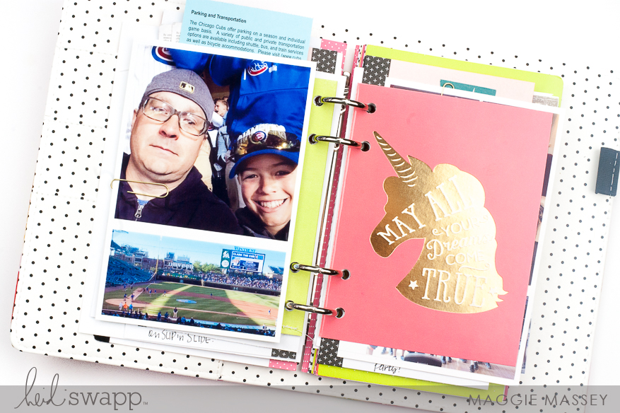 A look at June 2017 in my Memory Planner | Maggie Massey for Heidi Swapp