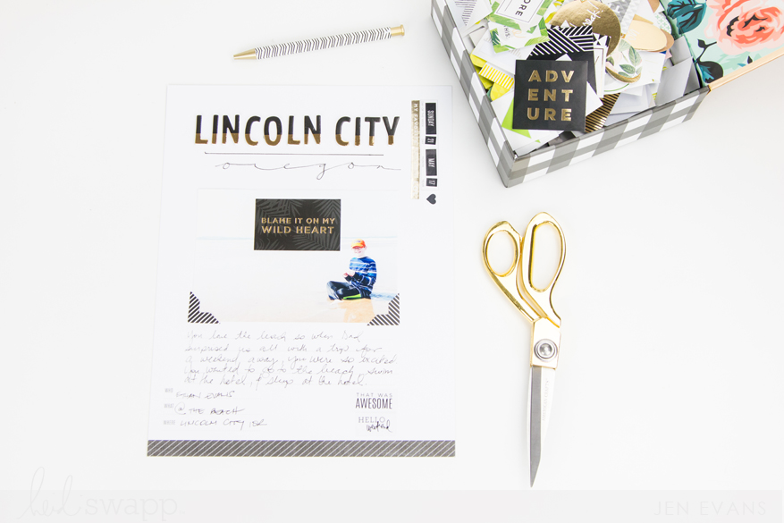 Vacation Storyline by @createoften for @heidiswapp