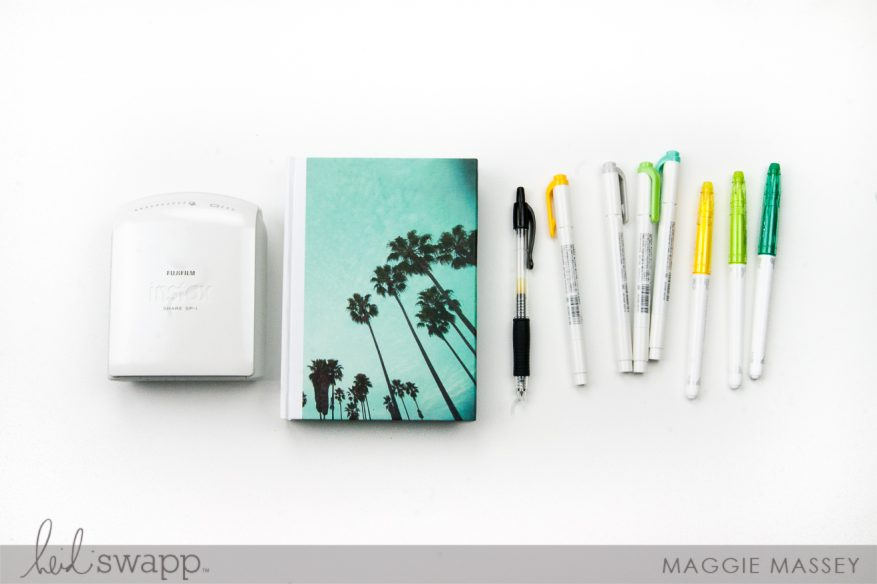 Our Summer 2017 :: An Instax Scavenger Hunt | Maggie Massey for Heidi Swapp