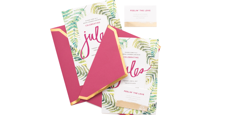 DIY wedding shower ideas designed by @heidiswapp for Julianne Hough's bridal shower