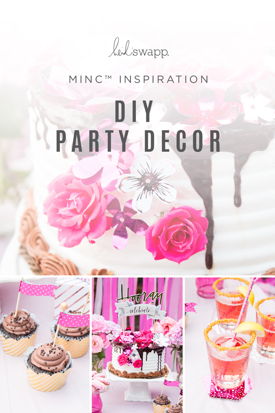 The Heidi Swapp Minc is now at #TuesdayMorning party decor by @heidiswapp