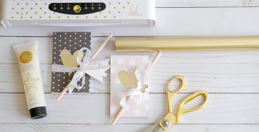 Heidi Swapp Minc It Monday Teacher Gifts Tutorial by Jamie Pate | @jamiepate for @heidiswapp