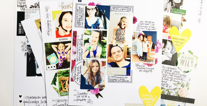 Storyline and the reason why I love this way to document my memories quickly by Stephanie Howell for @heidiswapp