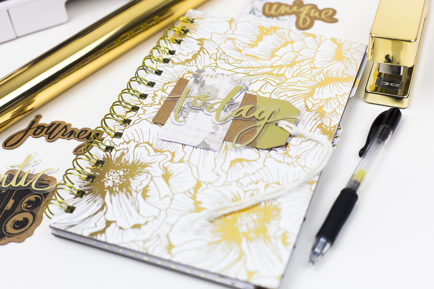 DIY Minc Notebook I @lindsaybateman for @heidiswapp