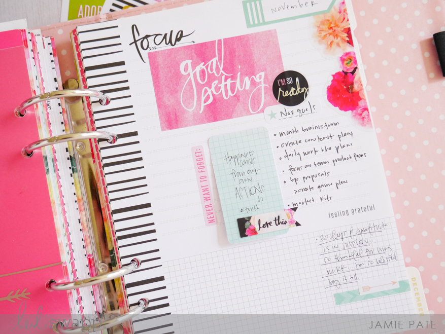 New Heidi Swapp Sticker Book by Jamie Pate | @jamiepate for @heidiswapp