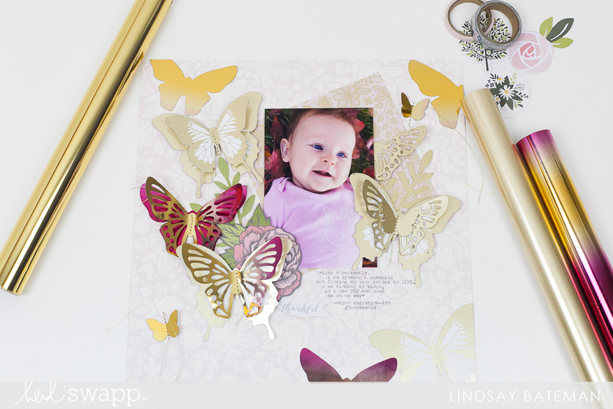 minc it monday layout I @lindsaybateman for @heidiswapp